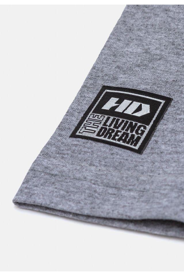 Camiseta-HD-Juvenil-Estampada-Cinza-Mescla