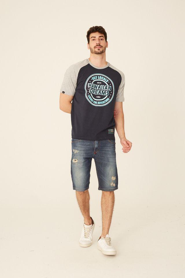 Camiseta-HD-Raglan-Estampada-Azul-Marinho