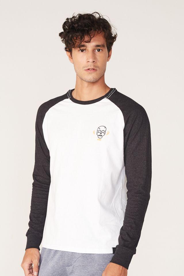 Camiseta-HD-Manga-Longa-Raglan-Estampada-Minimal-Branca