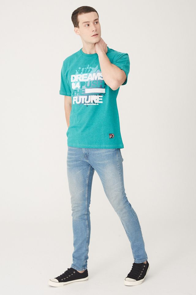 Camiseta-HD-Estampada-Verde-Mescla