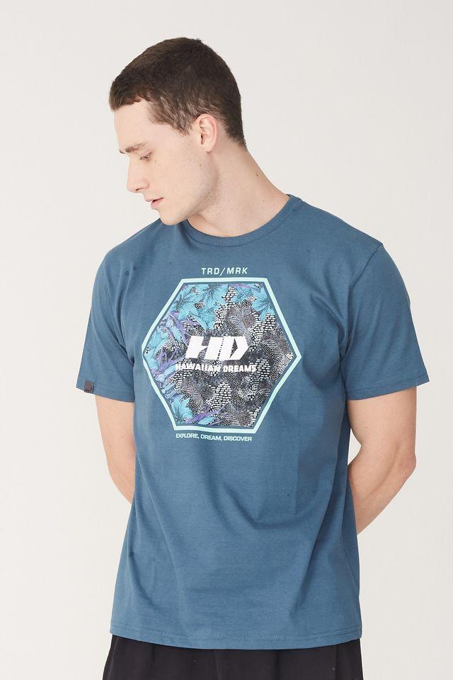 Camiseta-HD-Estampada-Greenhouse-Azul