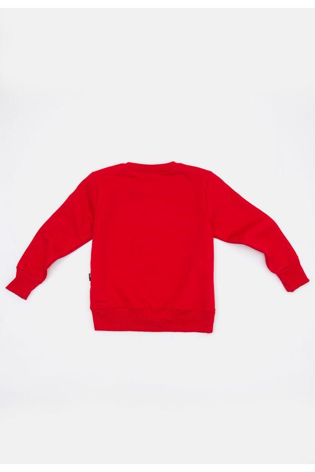 Moletom-HD-Infantil-Fechado-Gola-Careca-Estampado-Vermelho