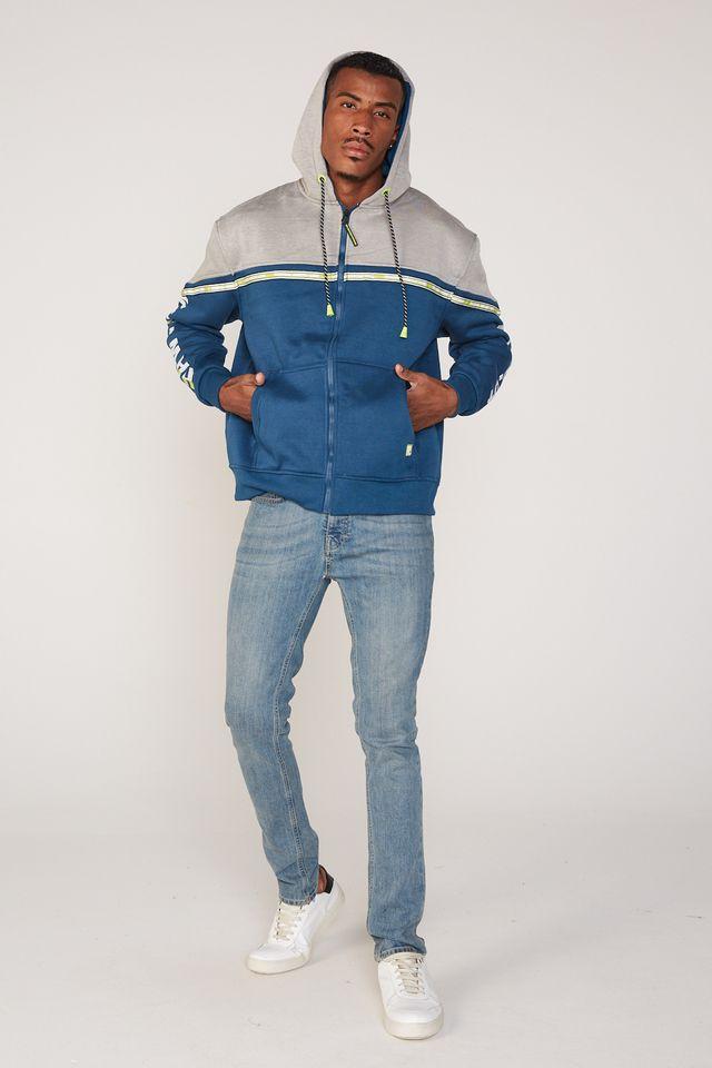 Moletom-HD-Plus-Size-Aberto-Com-Capuz-Azul-Marinho
