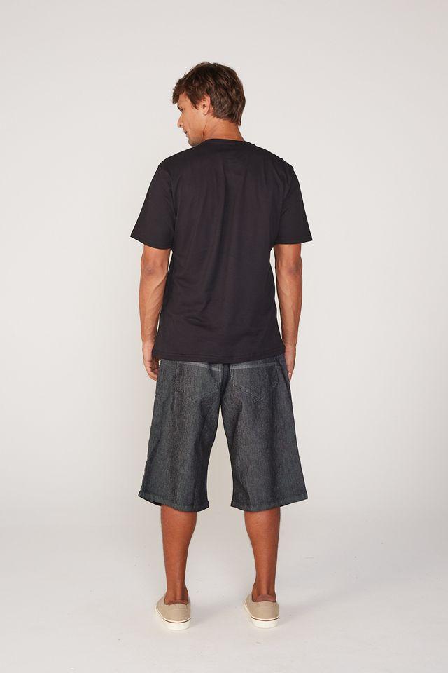 Bermuda-HD-Plus-Size-Jeans-Preta