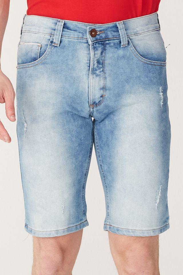 Bermuda-HD-Jeans-Slim-Confort-Azul