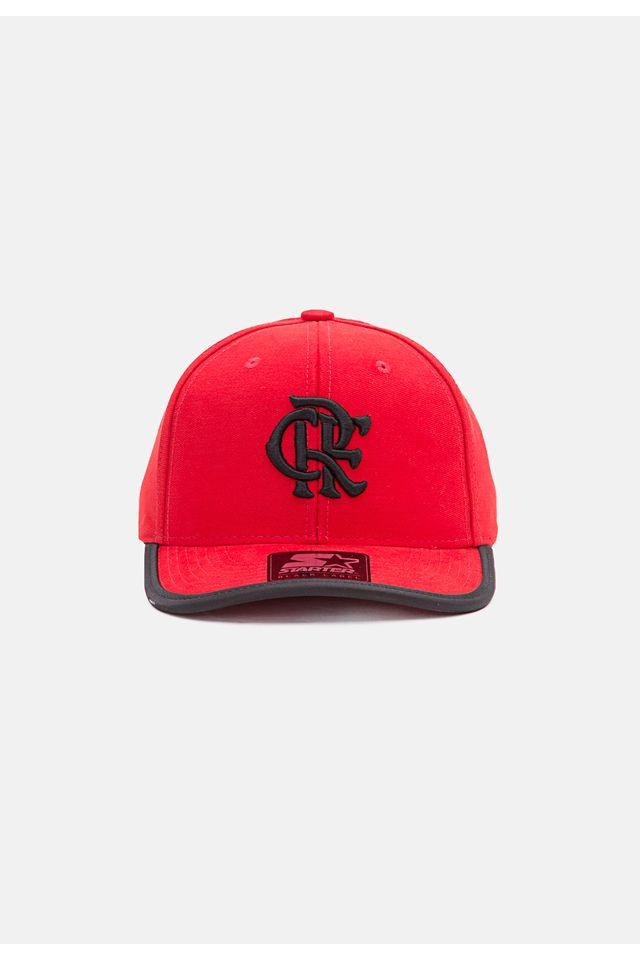 Bone-Starter-Aba-Curva-Snapback-Collab-Flamengo-Oficial-Vermelho