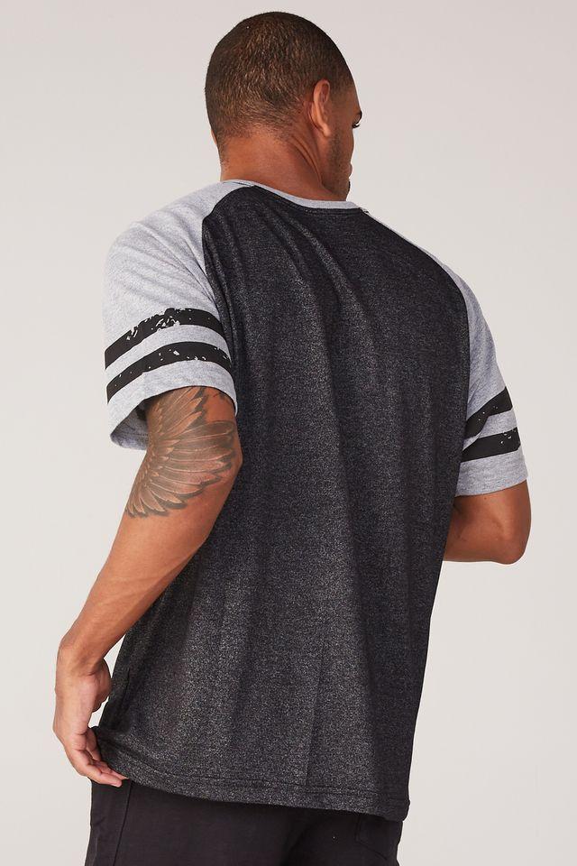 Camiseta-NBA-Especial-Stripes-Chicago-Bulls-Preta