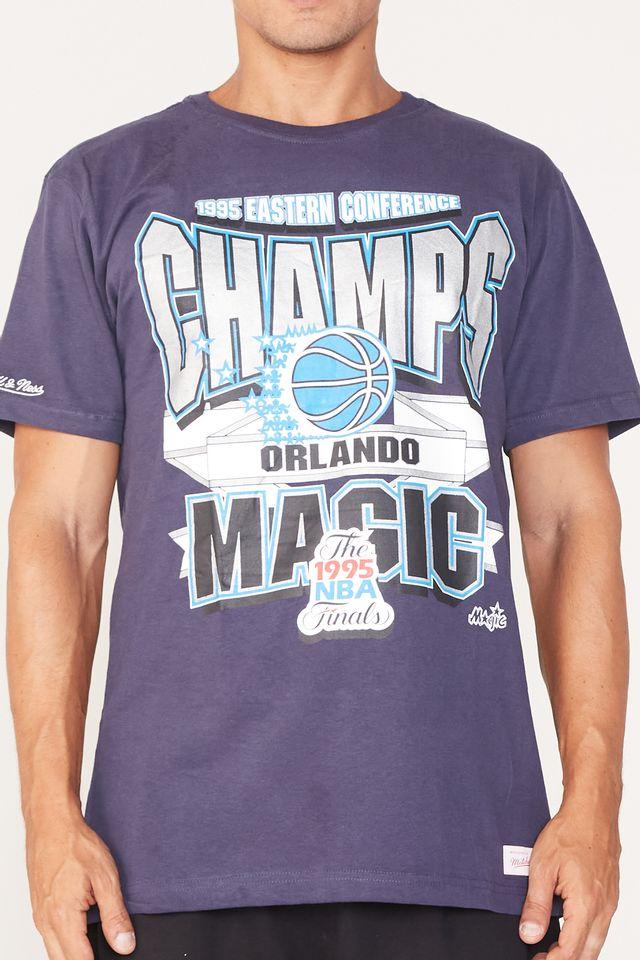 Camiseta-Mitchell---Ness-Estampada-Sportsman-Crew-Orlando-Magic-Azul-Marinho