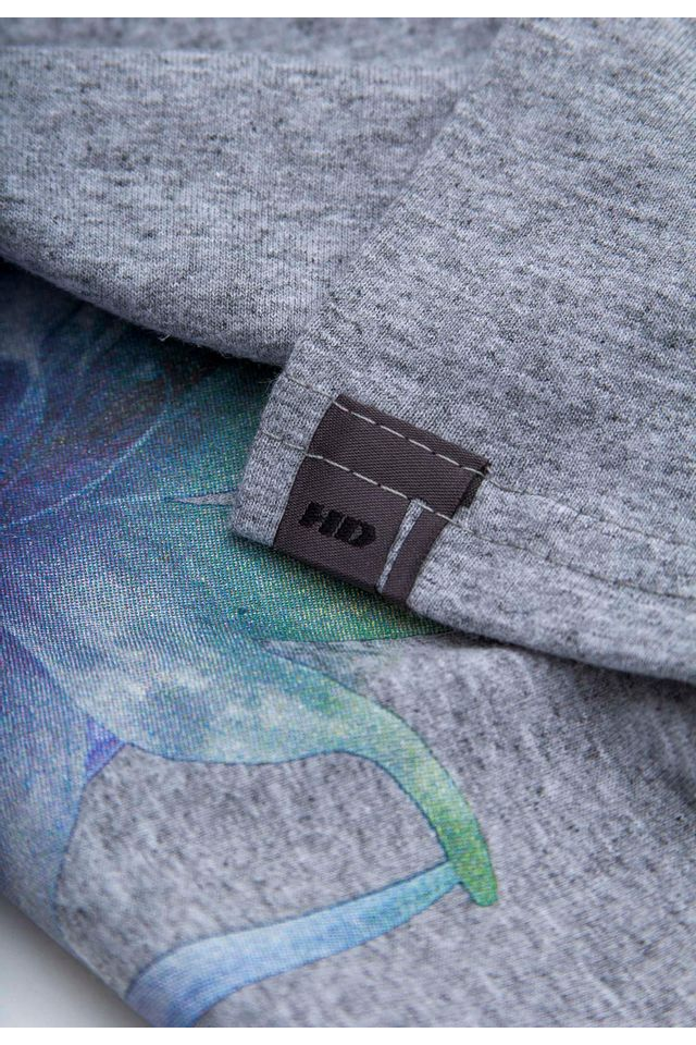 Camiseta-HD-Juvenil-Watercolor-Flow-Cinza-Mescla