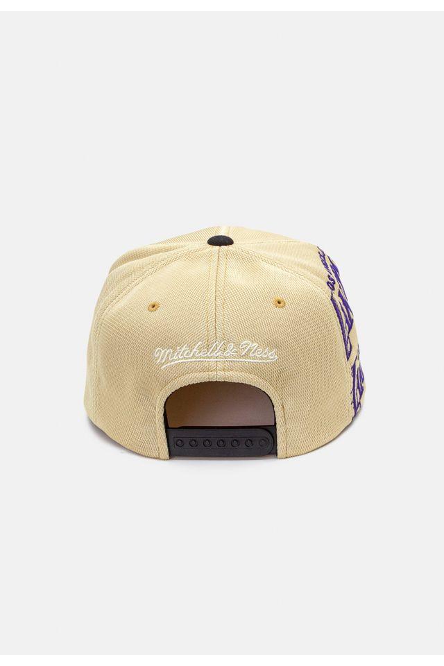 Bone-Mitchell---Ness-Aba-Reta-Snapback-Los-Angeles-Lakers-Kobe-Bryant-Amarelo