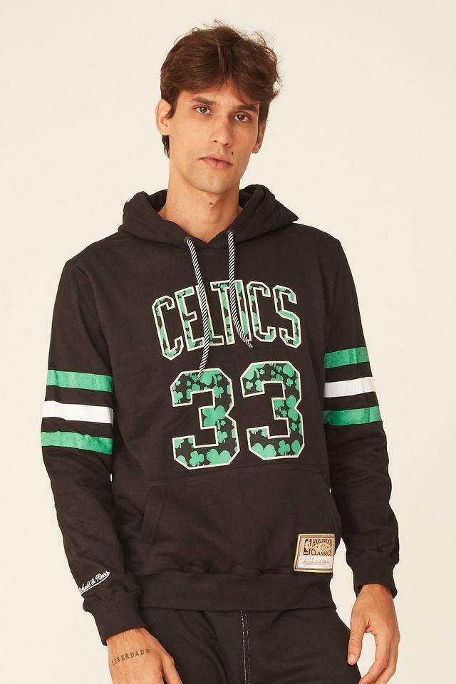Moletom-Mitchell---Ness-Fechado-Com-Capuz-Especial-Boston-Celtics-Larry-Bird-Preto