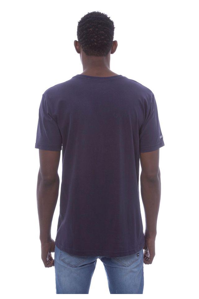 Camiseta-Mitchell---Ness-Estampada-Nostalgic-Company-Branding-Azul-Marinho