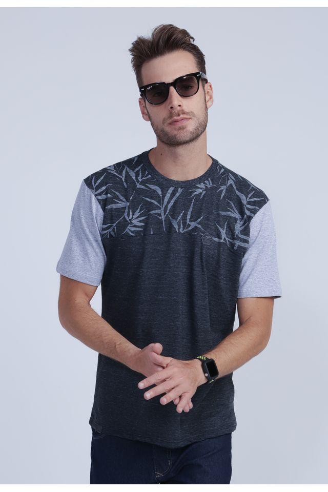 Camiseta-HD-Especial-Water-Leaves-Preta