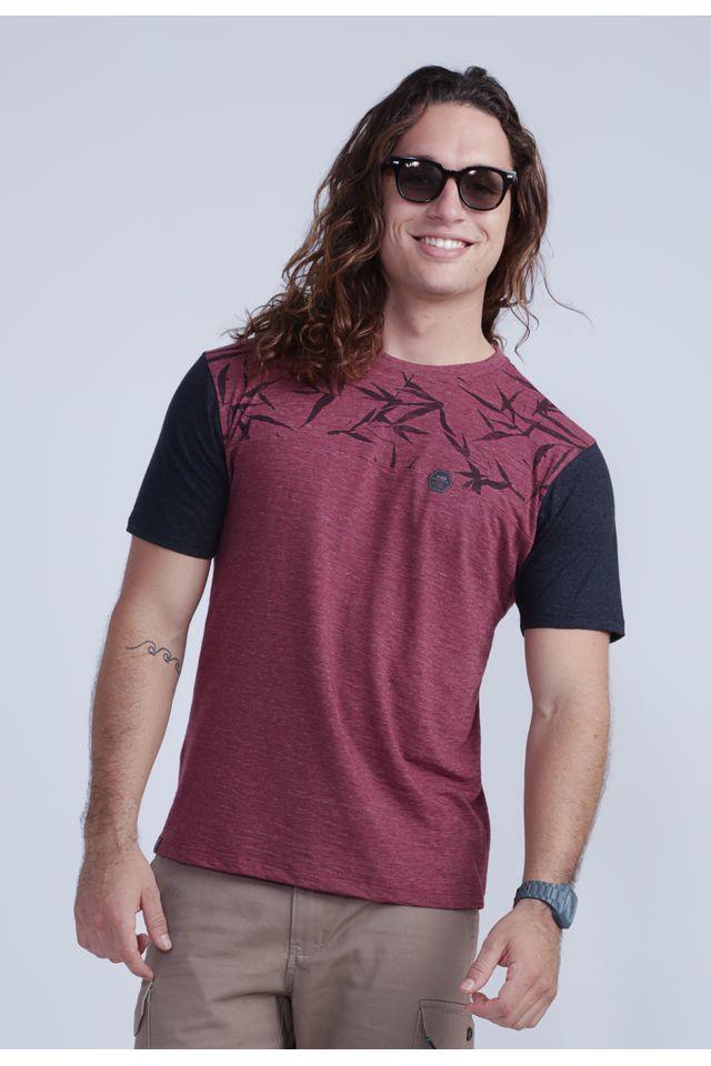 Camiseta-HD-Especial-Water-Leaves-Vinho