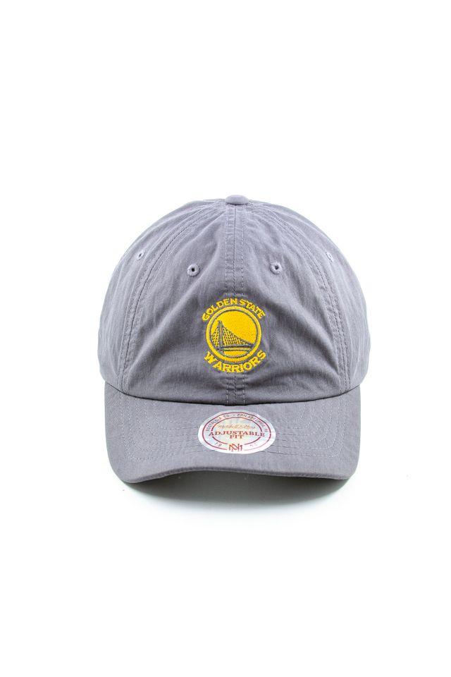 Bone-Mitchell---Ness-NBA-Aba-Curva-Strapback-Golden-State-Warriors-Cinza