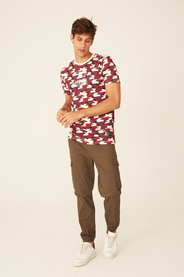 Camiseta-Starter-Especial-Estampada-Label-Vinho