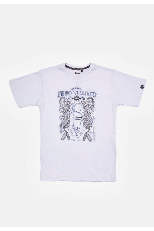 Camiseta-HD-Juvenil-Estampada-Mermaid-Branca