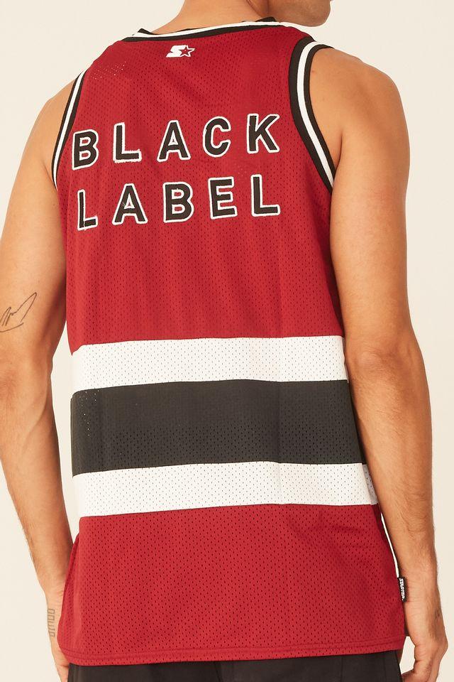Regata-Starter-Estampada-Black-Label-Vinho