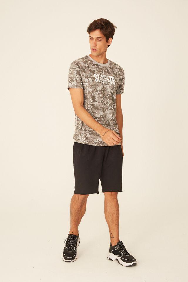 Camiseta-Starter-Especial-Camuflada-Cinza-Escuro