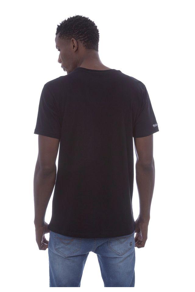 Camiseta-Mitchell---Ness-Estampada-Branding-Box-Logo-Preta