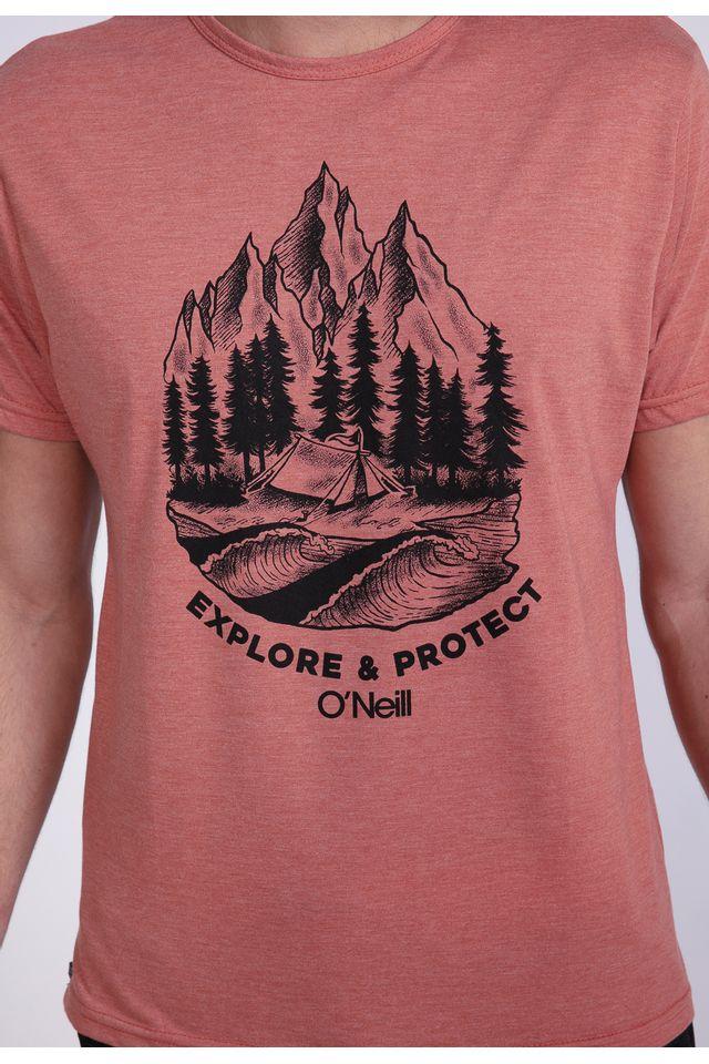 Camiseta-Oneill-Especial-Mountains-Marrom