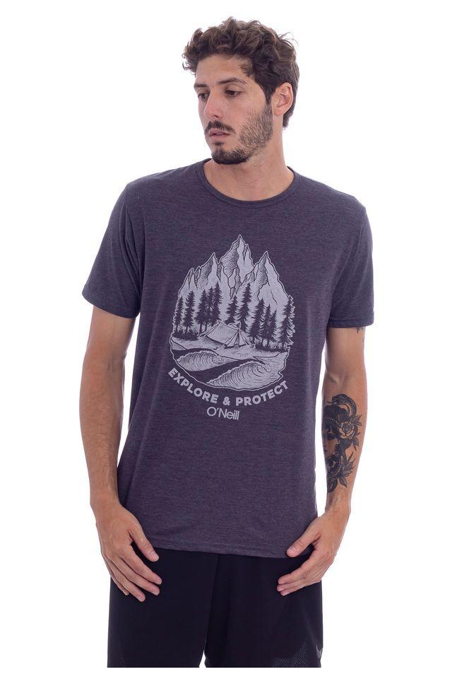 Camiseta-Oneill-Especial-Mountains-Preta