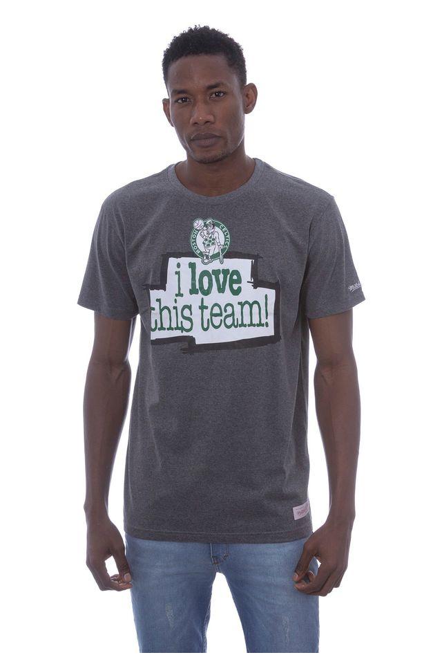 Camiseta-Mitchell---Ness-Estampada-Love-Boston-Celtics-Cinza