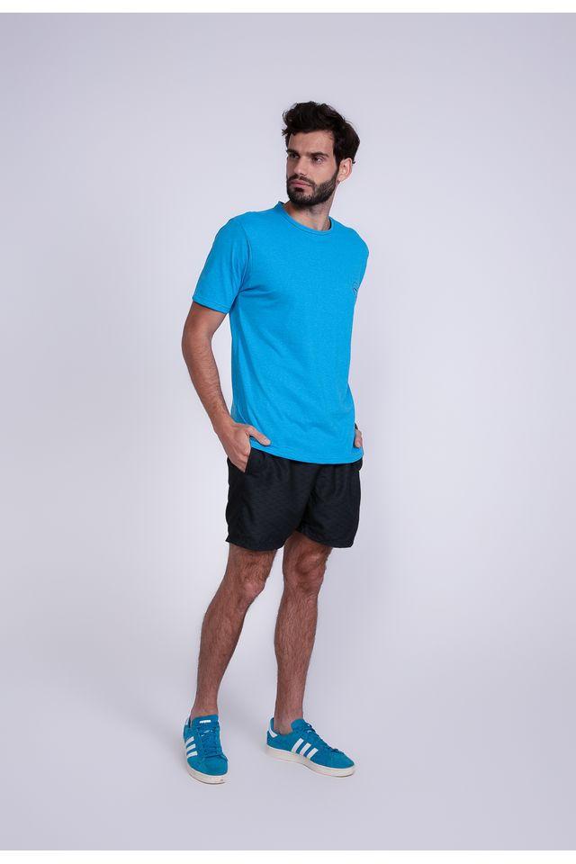 Camiseta-Oneill-Estampada-Flashback-Azul-Mescla