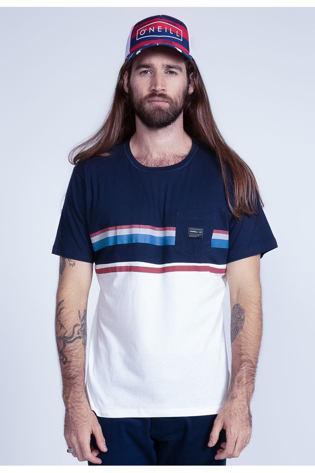 Camiseta-Oneill-Especial-Daybreak-Azul-Marinho