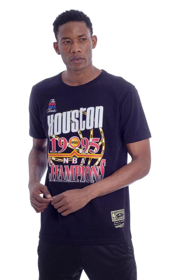 Camiseta-Mitchell---Ness-Estampada-NBA-Houston-Rockets-Preta