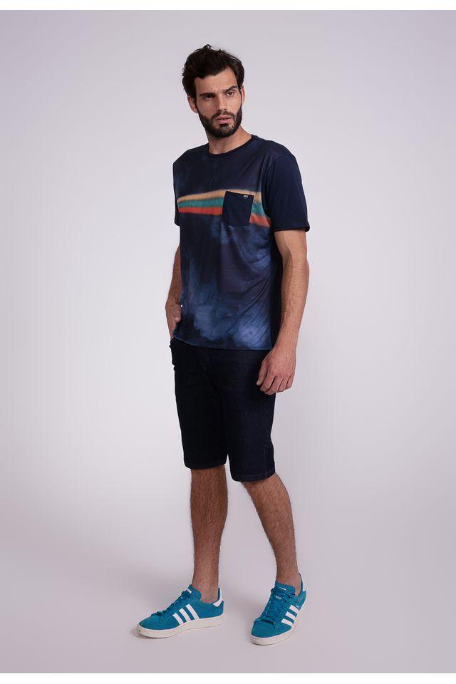 Camiseta-Oneill-Especial-Pocket-Zap-Azul-Marinho