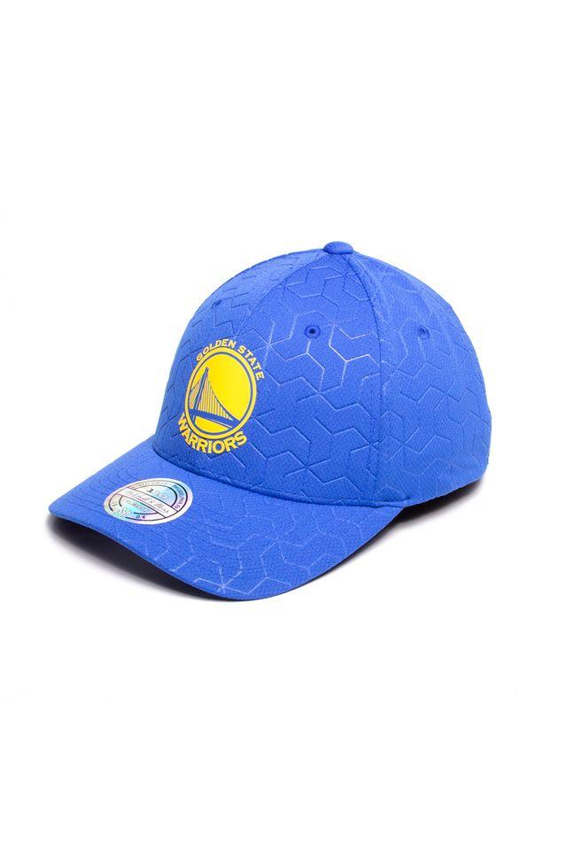 Bone-Mitchell---Ness-NBA-Aba-Curva-Snapback-Golden-State-Warriors-Azul