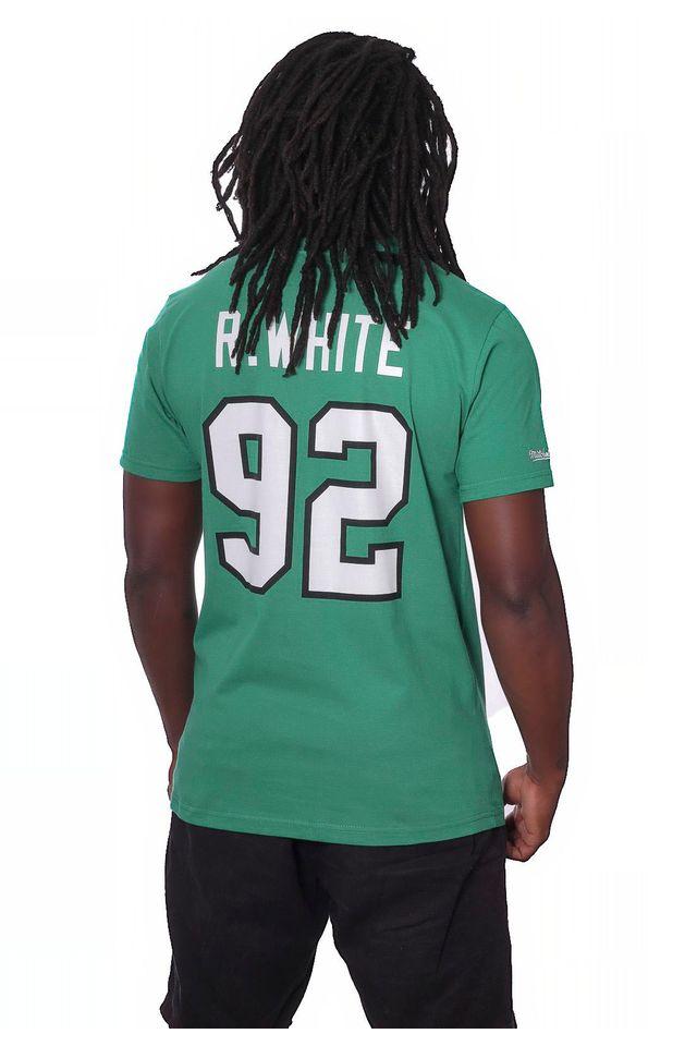 Camiseta-Mitchell---Ness-Estampada-NFL-Philadelphia-Eagles-Reggie-White-Verde