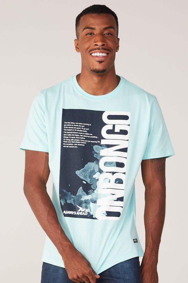 Camiseta-Onbongo-Estampada-Verde-Agua