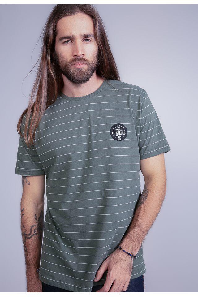 Camiseta-Oneill-Especial-Listrada-Rotten-Verde