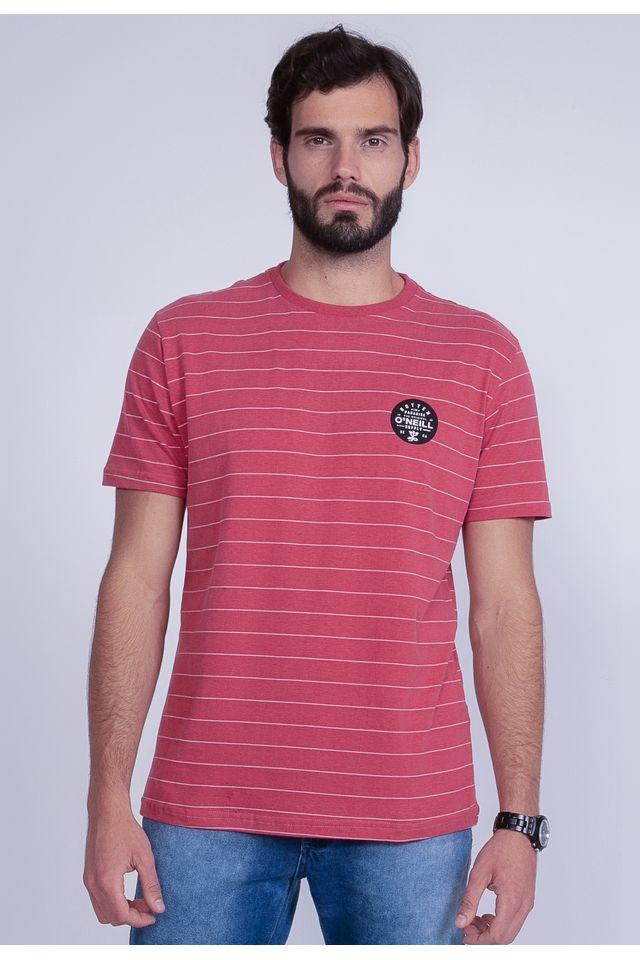 Camiseta-Oneill-Especial-Listrada-Rotten-Vinho