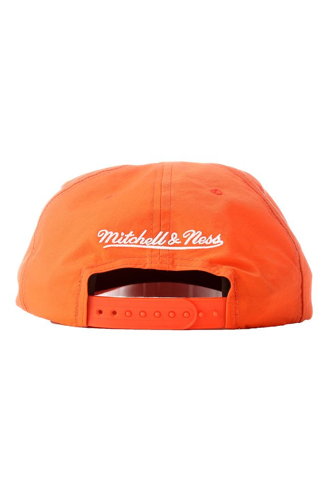 Bone-Mitchell---Ness-Aba-Curva-Snapback-Branded-Laranja