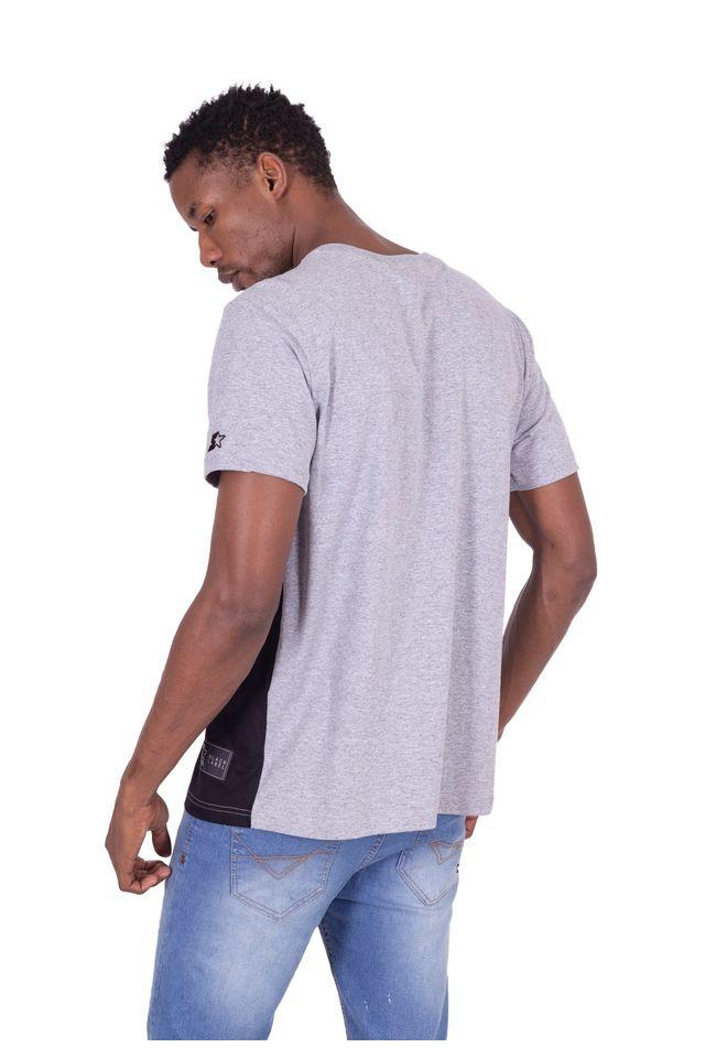 Camiseta-Starter-Especial-Faixa-Logo-Cinza-Mescla