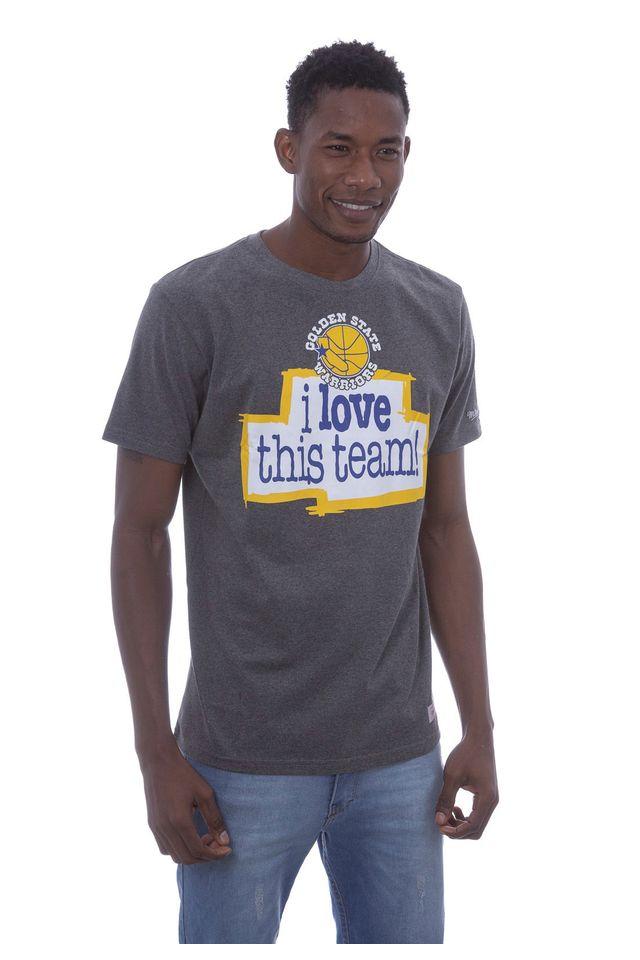 Camiseta-Mitchell---Ness-Estampada-Love-Golden-State-Warriors-Cinza