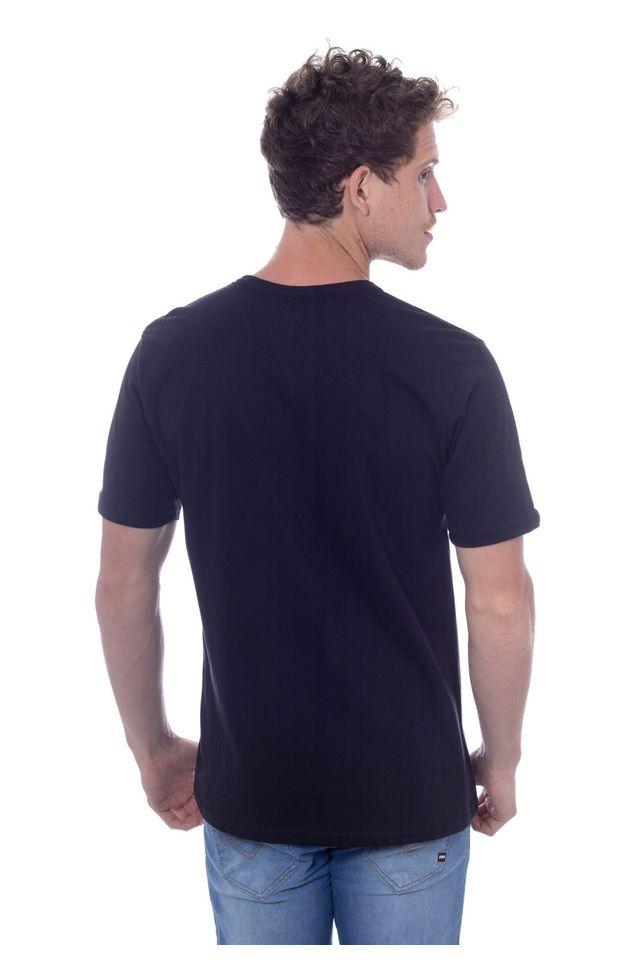 Camiseta-HD-Estampada-Spike-Flora-Preta