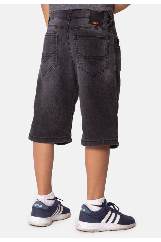 Bermuda-HD-Juvenil-Jeans-Regular-Confort-Preta