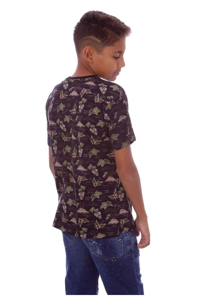 Camiseta-HD-Juvenil-Especial-Estampada-Island-Preta