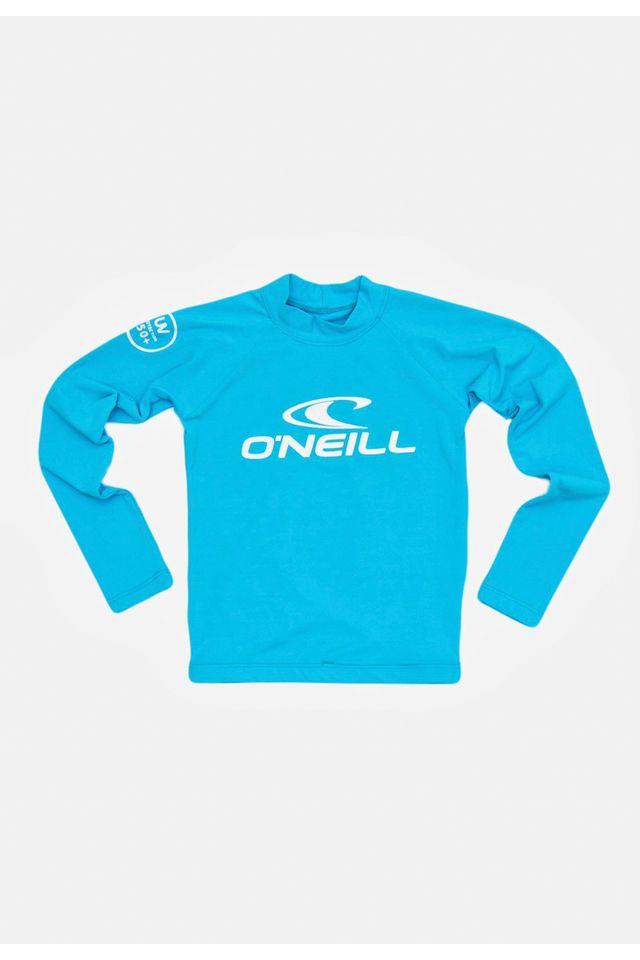 Camiseta-Oneill-Infantil-Manga-Longa-Lycra-Azul