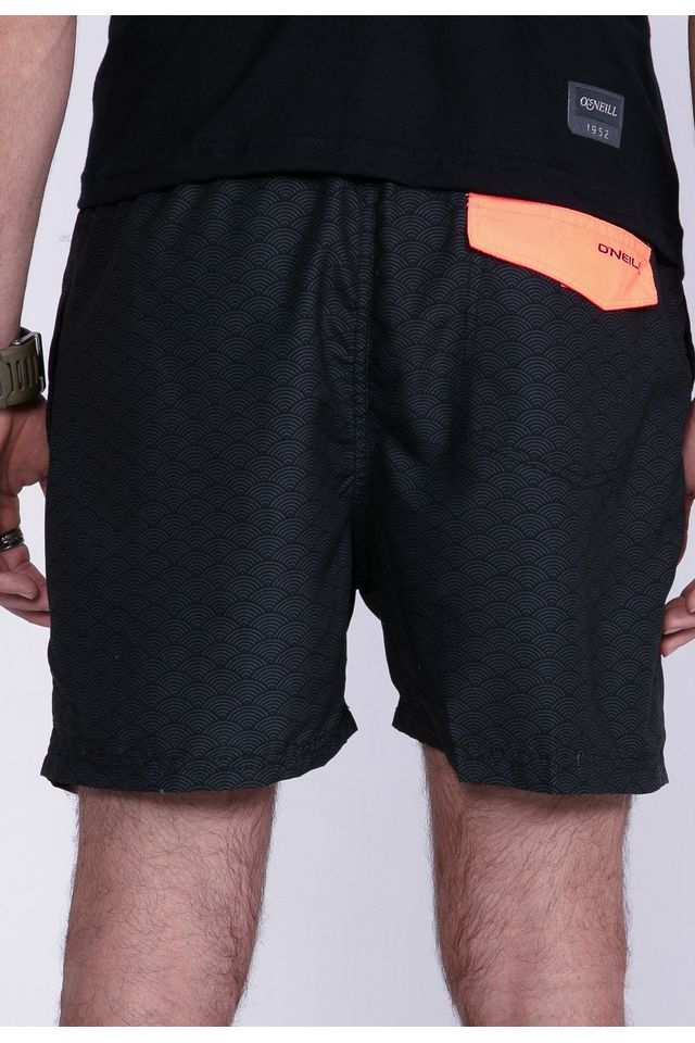 Shorts-Oneill-Volley-Preto