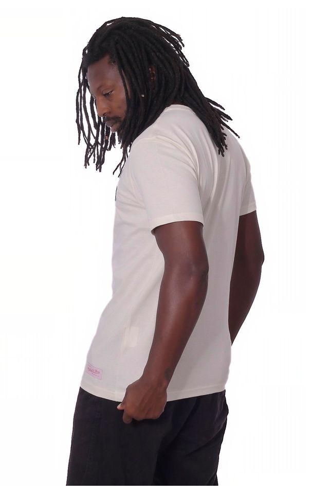 Camiseta-Mitchell---Ness-Basica-Estampada-NFL-Green-Bay-Packers-Off-White
