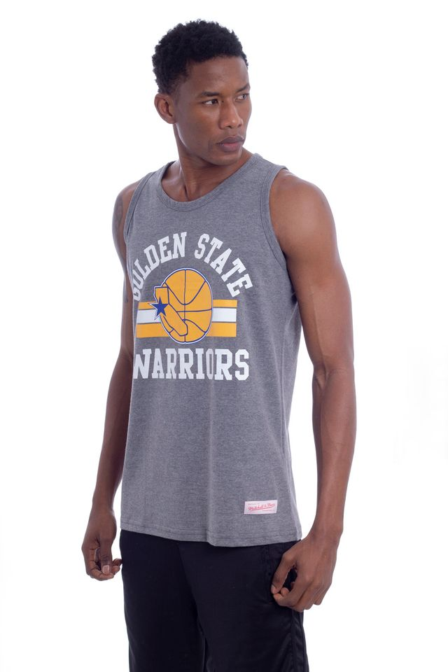 Regata-Mitchell---Ness-NBA-Estampada-Golden-State-Warriors-Cinza