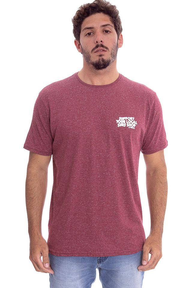 Camiseta-Oneill-Especial-Shop-Vinho