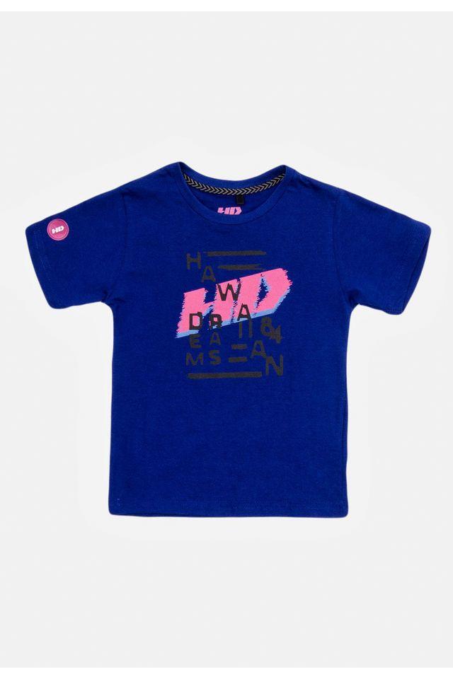 Camiseta-HD-Infantil-Estampada-Azul