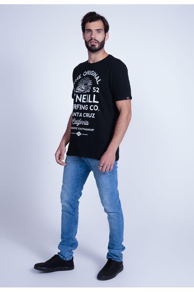 Camiseta-Oneill-Estampada-Santa-Cruz-Preta