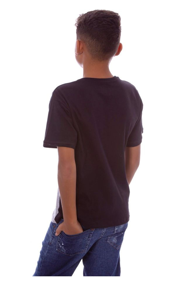 Camiseta-HD-Juvenil-Especial-Pocket-Mixture-Preta